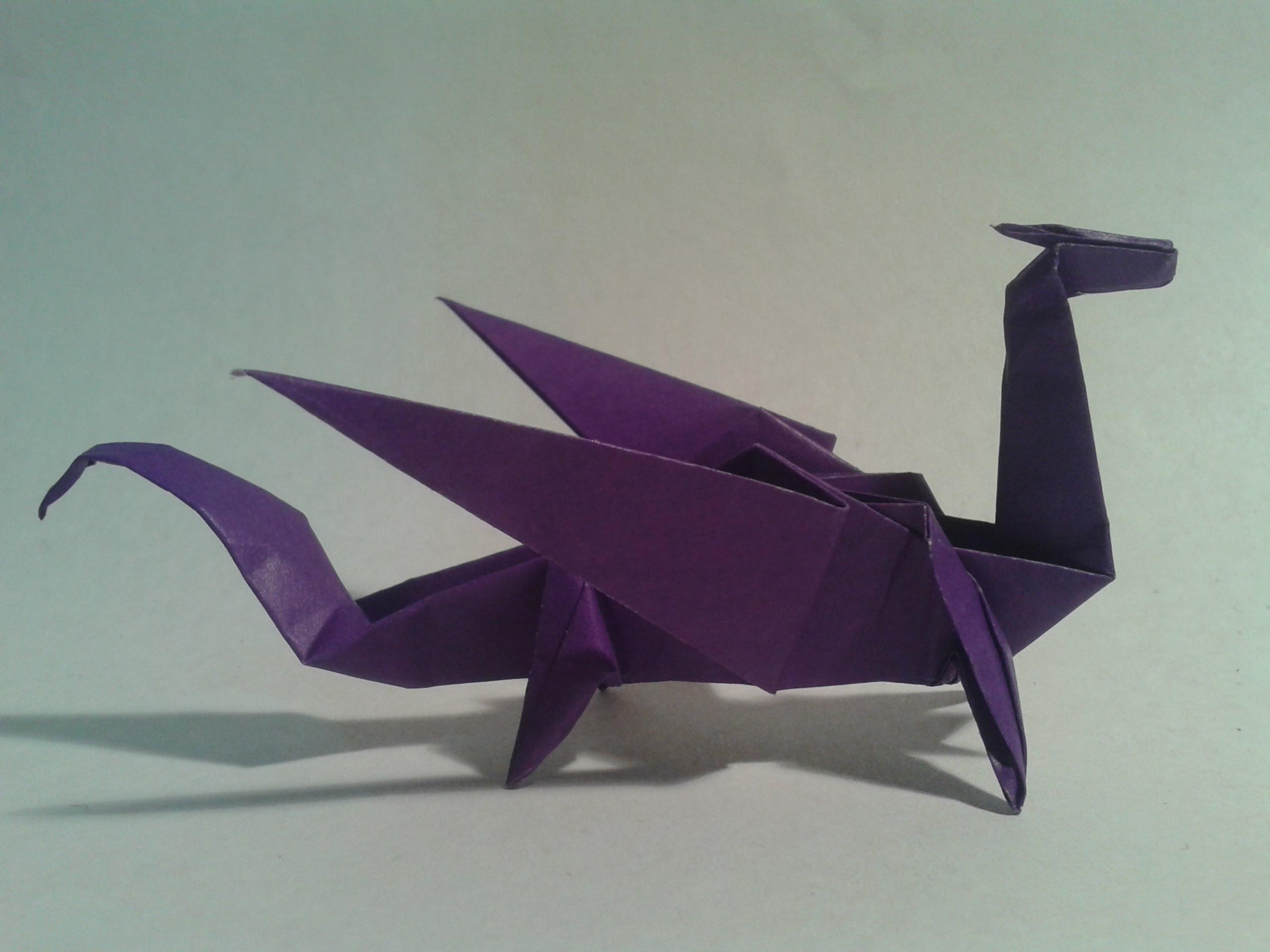 Kade Chan Origami Blog 香港摺紙工作室 (博客): Fiery Dragon ... | 1920x2560