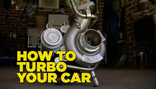 How to turbo charge your car in 5 minutes step by step DIY tutorial instructions