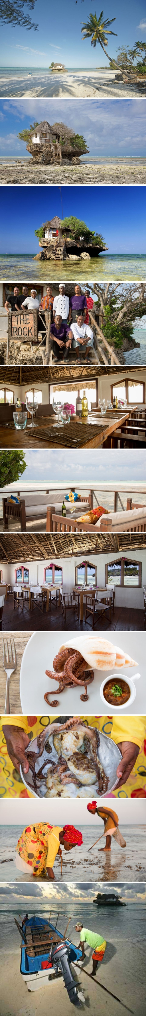 Beautiful The rock restaurant zanzibar