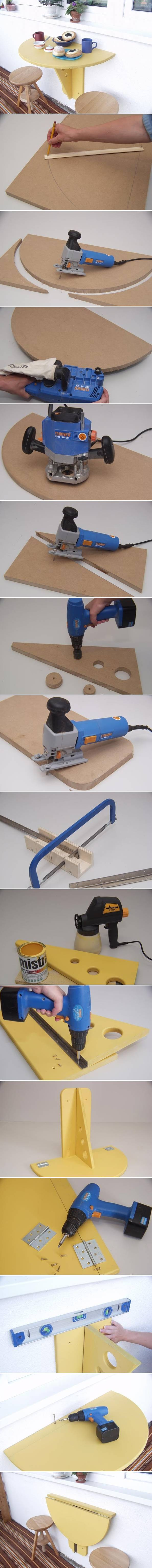 ... outdoor Folding picnic Table step by step DIY tutorial instructions