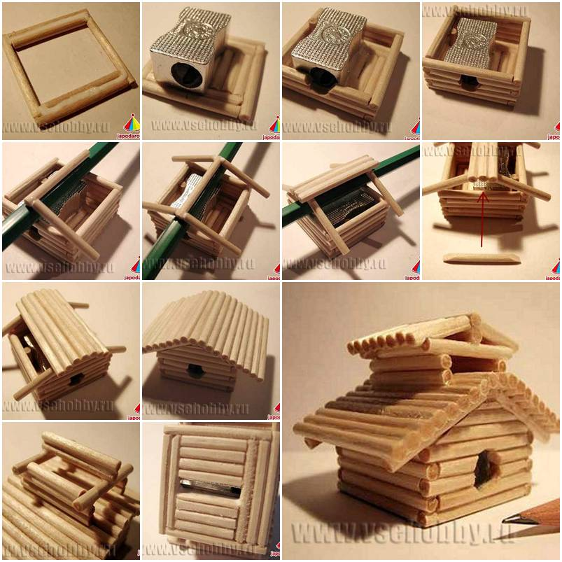 How to make chinese house sharpener step by step diy for How to build a house step by step
