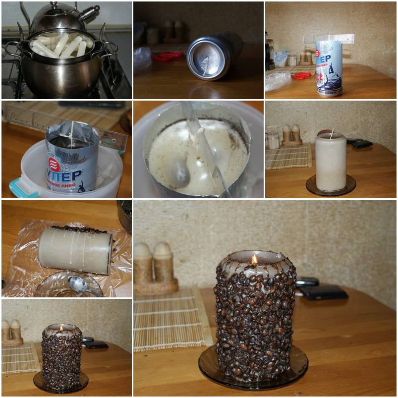 How To Make Coffee Candle Step By Step Diy Tutorial Instructions