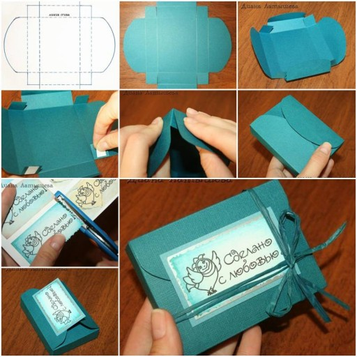 How To Make Fancy Gift Boxes step by step DIY tutorial instructions thumb