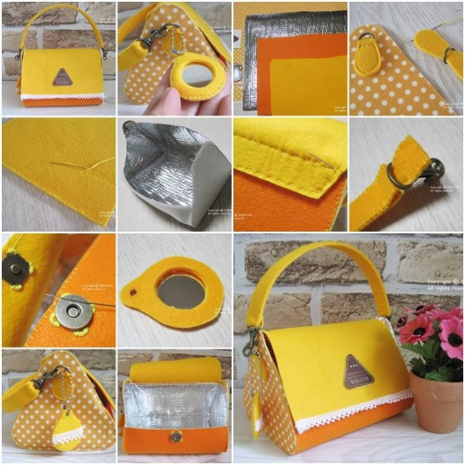 How To Make Fashion designers Lunch Box for work step by step DIY tutorial instructions thumb