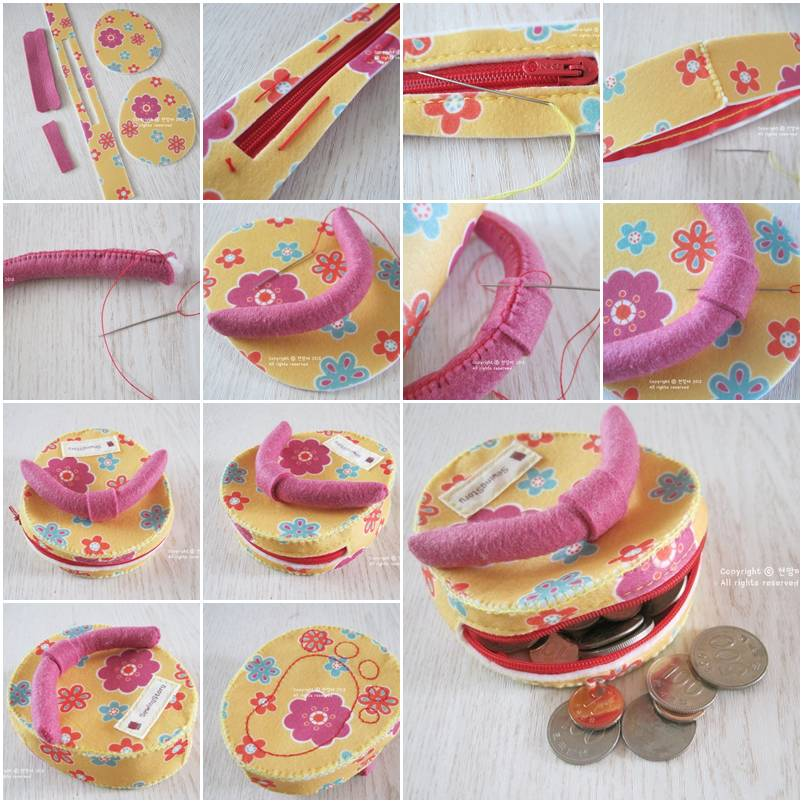 How To Make Custom Flip Flop Money Bag Step By Step Diy