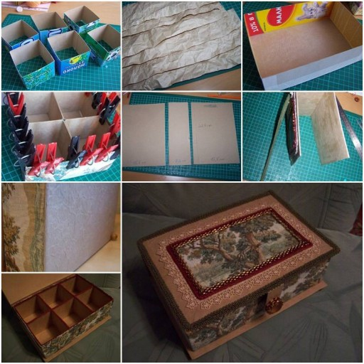 How To Make storage containers for jewelrys step by step DIY tutorial instructions thumb