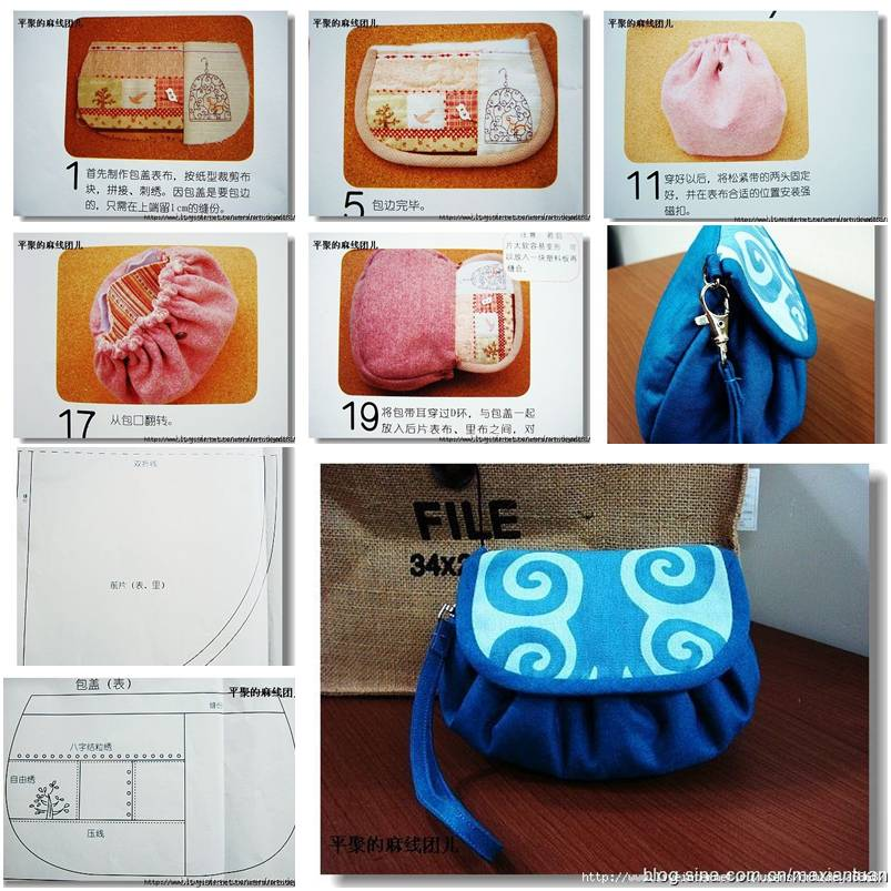 How To Sew Your Own Cute Designer Handbag S Step By Diy Tutorial Instructions Thumb