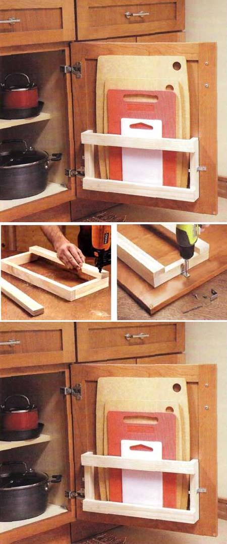 How to build cool Kitchen storage Racks step by step DIY tutorial instructions