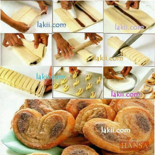 How to cook cute heart shape quick breads learned from culinary schools step by step DIY tutorial instructions