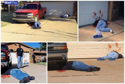 How to decorate horrifying Halloween decorations to terrify neighbours to call 911