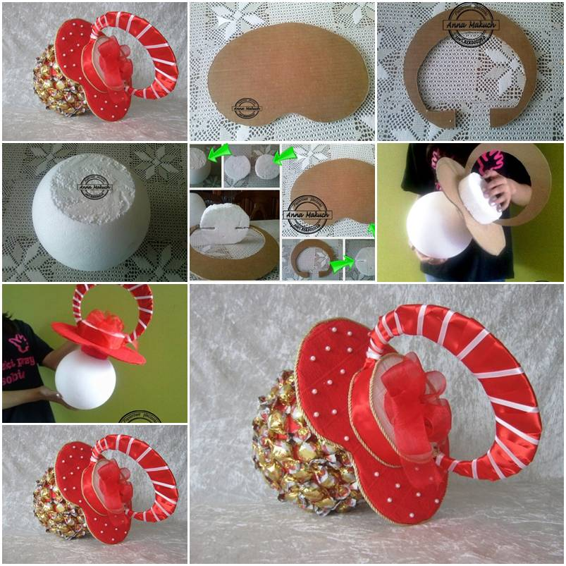 How to make candy pacifier for baby shower invitations step by step how to make candy pacifier for baby shower invitations step by step diy tutorial instructions thumb filmwisefo