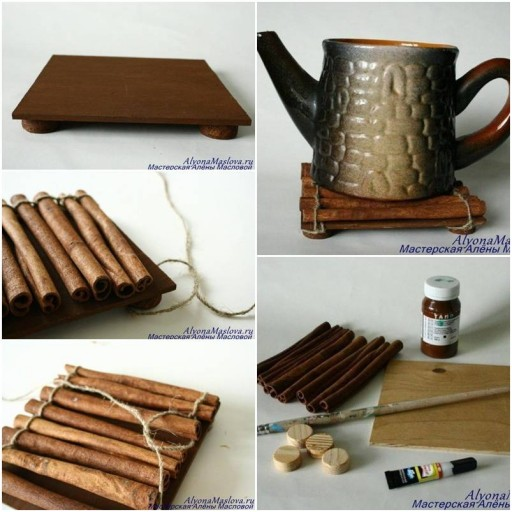 How to make Cinnamon Sticks Fragrant Stand step by step DIY tutorial instructions thumb