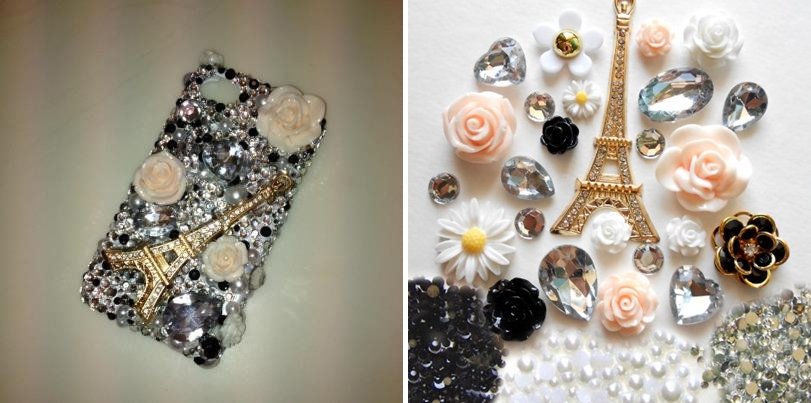 diy rhinestone phone case - photo #14