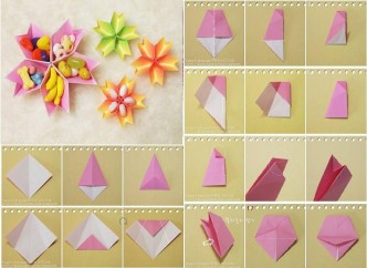 Paper Flower How To Instructions