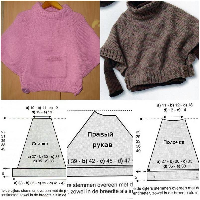 How to make Poncho as Girl clothing step by step DIY