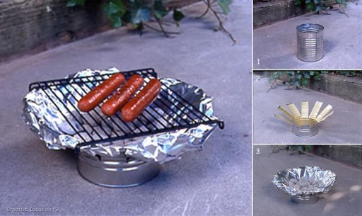 How to make barbaque grill for BBQ food step by step DIY tutorial instructions