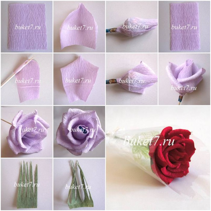 How To Make Beautiful Rose Flowers Step By Step Diy