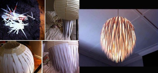 How to make beautiful lighting shade decoration step by step DIY tutorial instructions