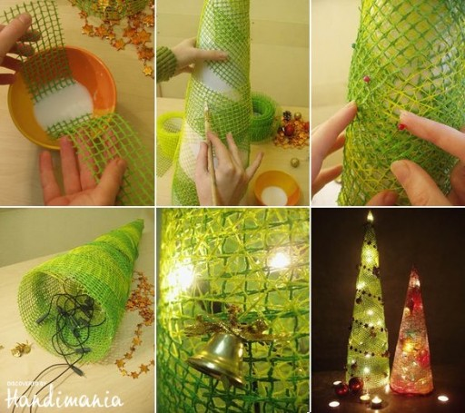 How To Make Custom Christmas Holiday Light Decoration Step