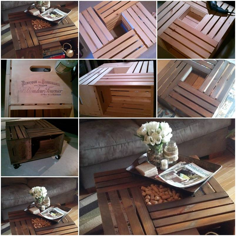 How to make custom designer wine table with shipping for Instructions on how to build a table
