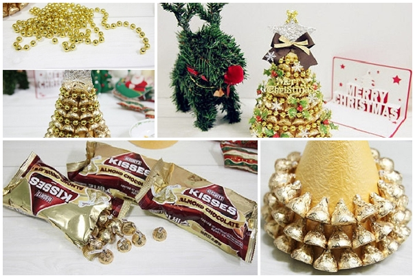 How to make Christmas tree with recycled paper step by step DIY ...