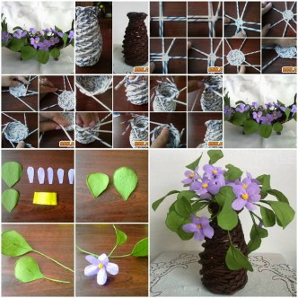 Paper flower how to instructions part 2 for Handmade flowers for decoration step by step