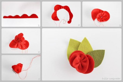 How to make cute decoration flowers step by step DIY tutorial instructions