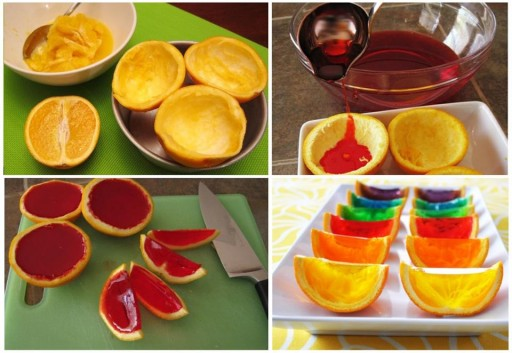 How to make delicious deserts with orange skins step by step DIY tutorial instructions