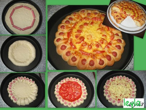 How to make nice pizza step by step DIY tutorial instructions