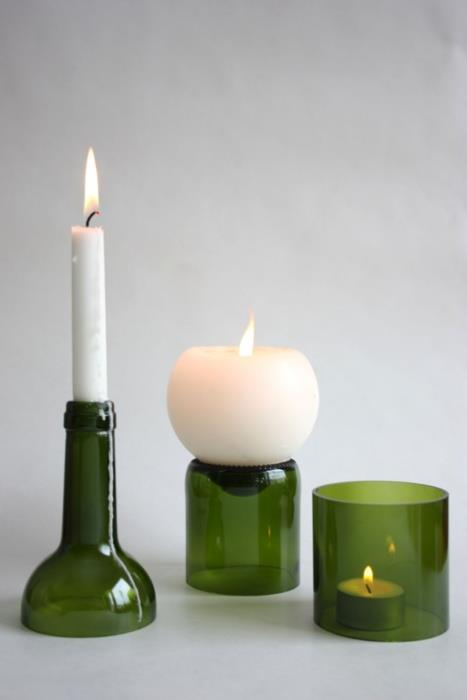 How to make simple beautiful candle holders