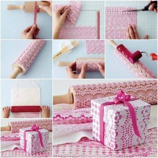 How to make super lovely gift box with painting step by for How to make easy crafts step by step