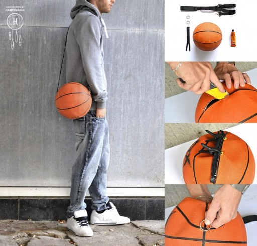 How to make your cool basketball custom bags step by step DIY tutorial instructions