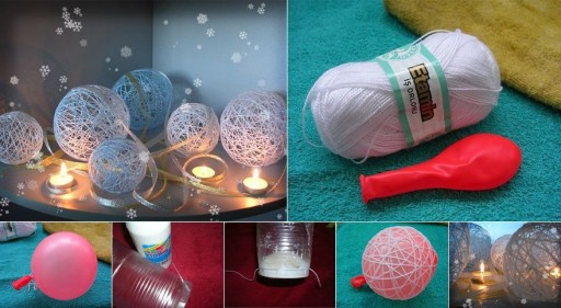 How to make your own cute decoration wire balls step by step DIY tutorial instructions