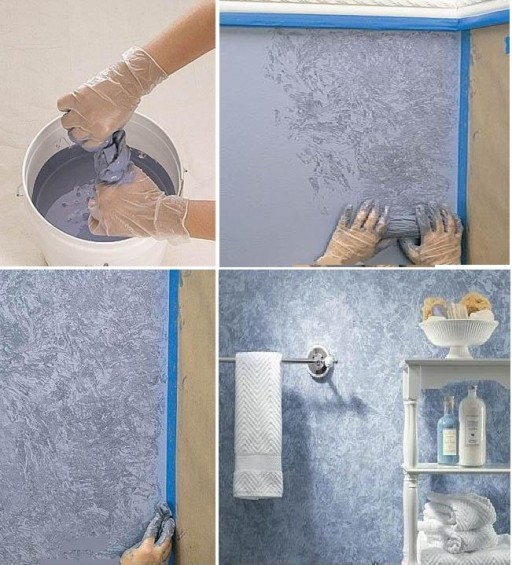 how to paint beautiful interior wall painting step by step diy