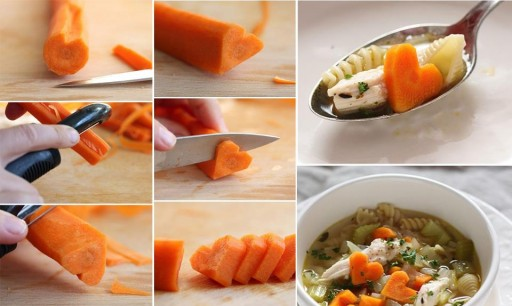 More DIY Ideas How To Prepare Heart Shaped Food Step