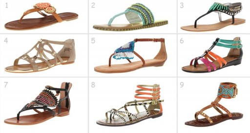 Which designer sandals would you buy