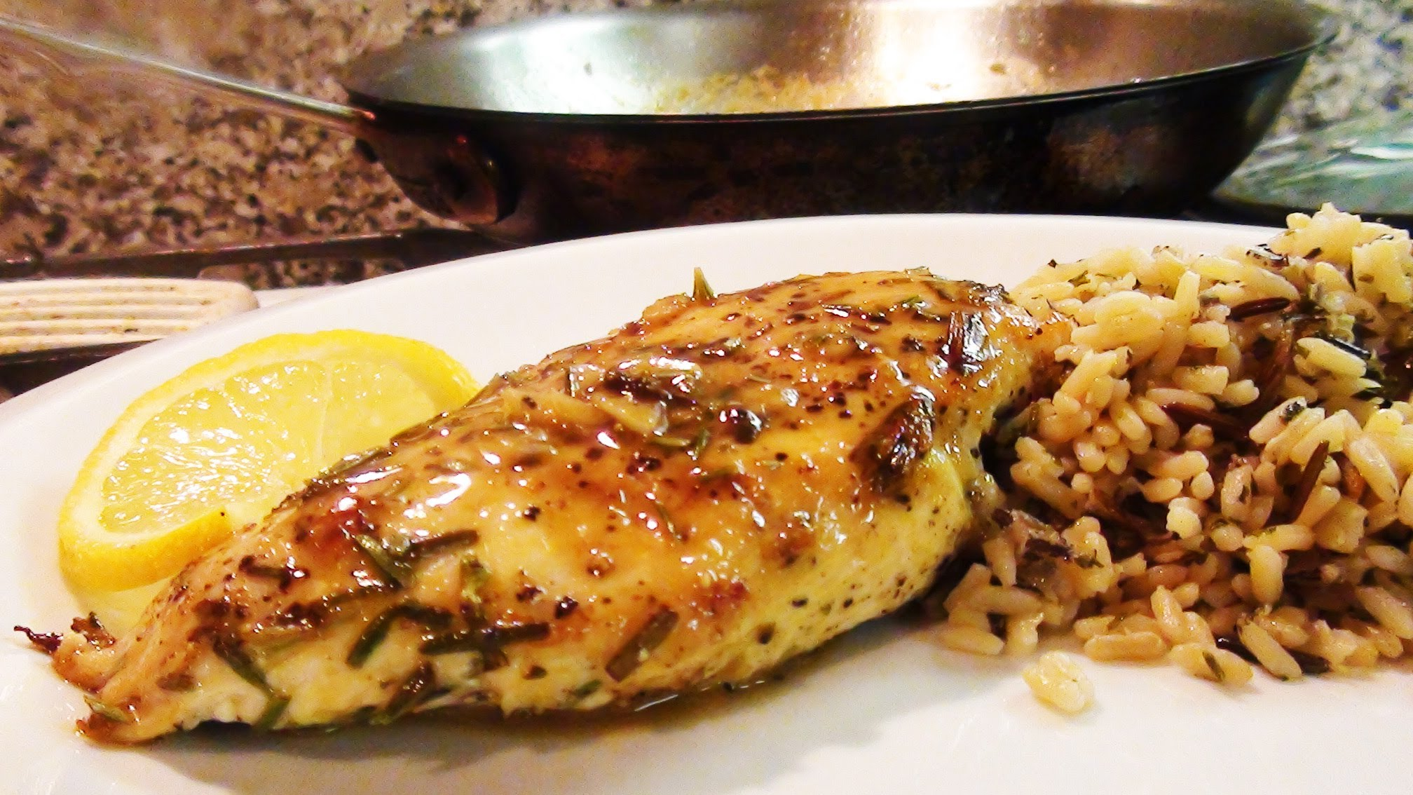 ... class - How to cook healthy Rosemary Lemon Chicken breast step