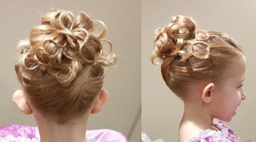 Terrific How To Do Cute Chain Updo Princess Hairstyle Cute Girls Short Hairstyles Gunalazisus