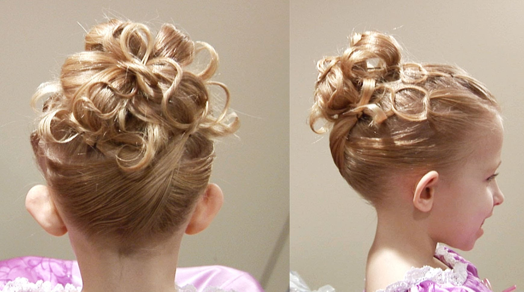 How To Do Cute Chain Updo Princess Hairstyle Cute Girls