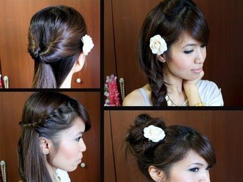 Terrific Easy Hairstyles For School Long Hair Hairstyles For Men Maxibearus