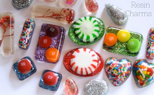 Resin Jewellery Pendant Resin Glitter Jewellery