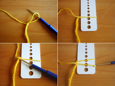 How To Crochet A Scarf Using A Ruler 2