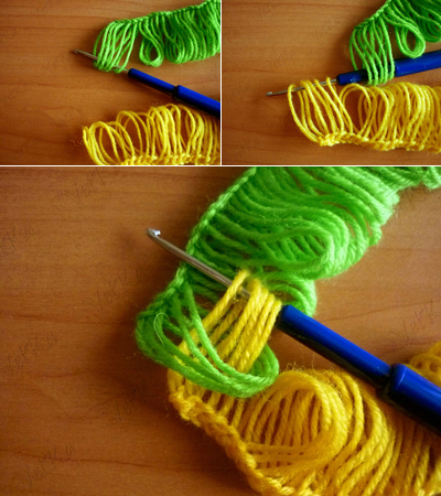 How To Crochet A Scarf Using A Ruler 5