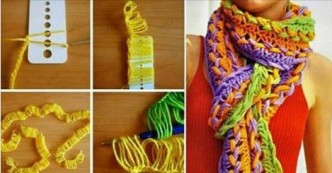 How To Knit A Scarf Using A Ruler