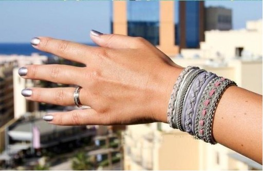 How to make Beautiful Braided Bracelet step by step DIY tutorial instructions thumb
