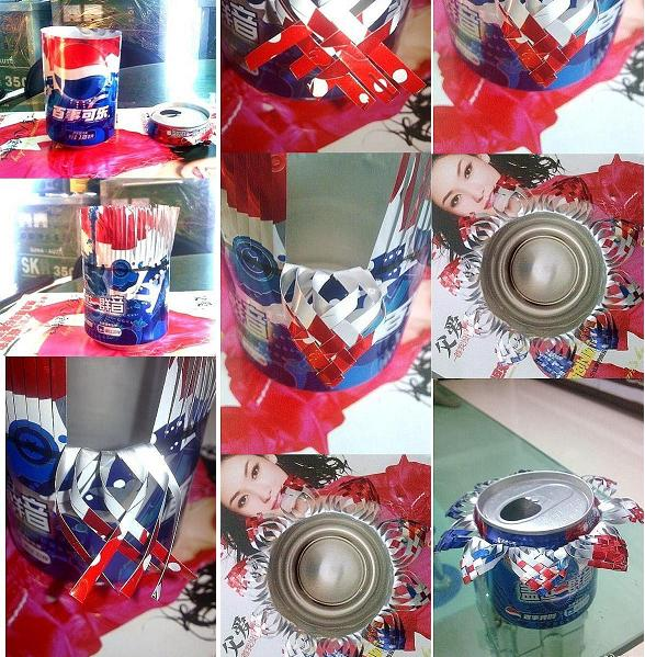how to make beautiful coke cans ashtray step by step diy