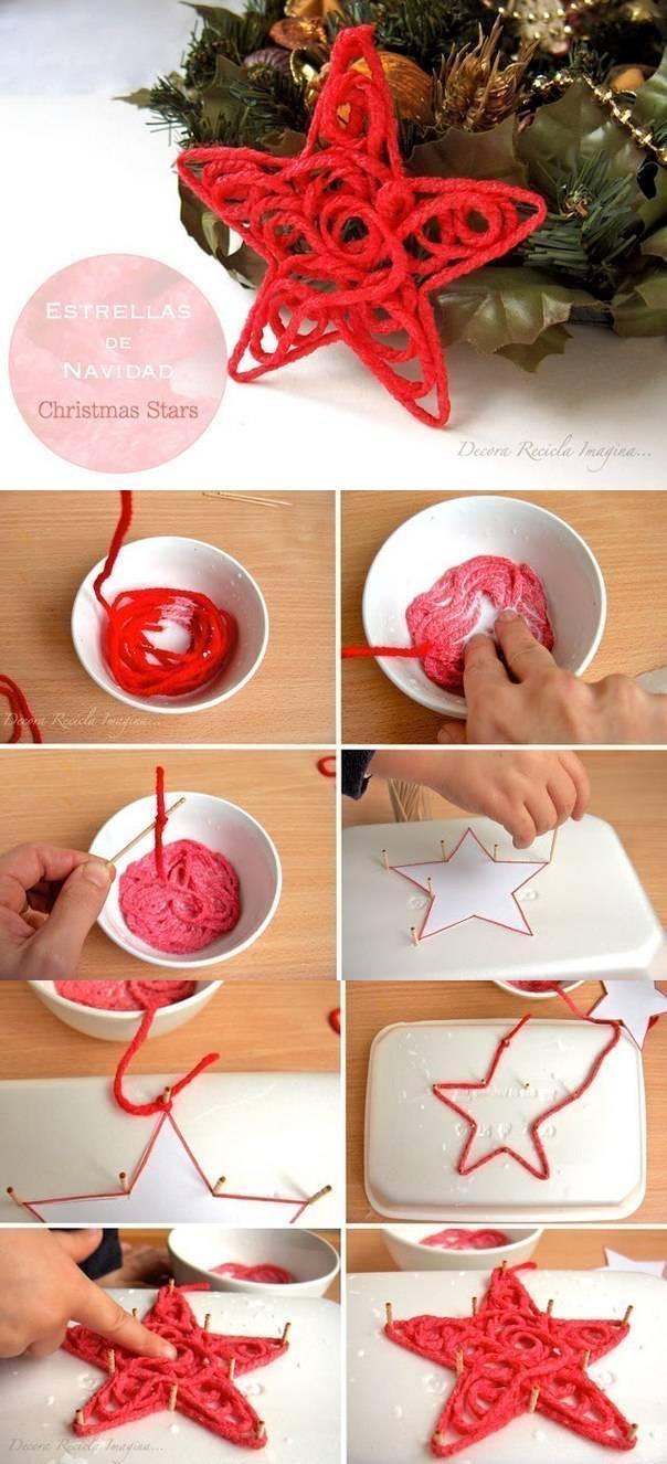 Как сделать новогодние своими руками