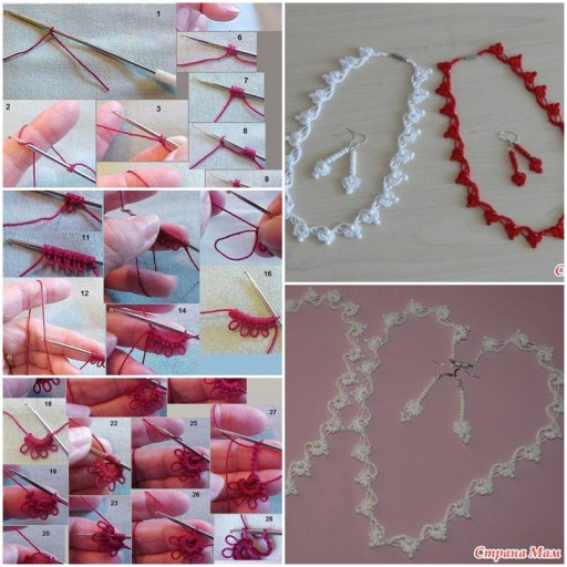 How to make Designer Jewelry Collection DIY tutorial instructions thumb