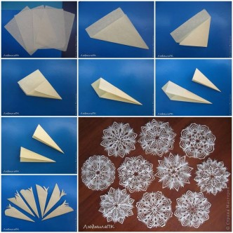 Pap how to instructions part 7 for How to make a real paper snowflake