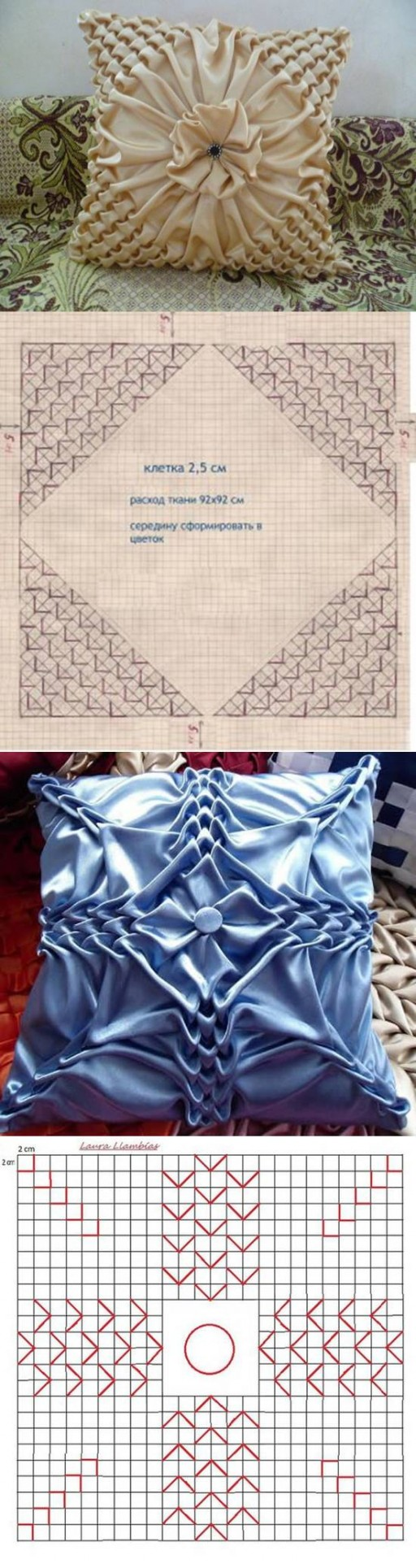 How to make Pillow Patterns Puffed Sleeves DIY tutorial instructions